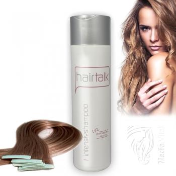 Hair Talk Intensiv Shampoo VOR & NACH der Haarverlängerung 200ml