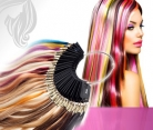 Farbring für Echthaar Strähnen Haarverlängerung aus Echthaar