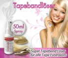 SUPER TAPEBAND LÖSER für Tape Extensions | Echthaar Strips 50 ml