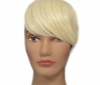 Pony Haarteil Clip In 25-30g Seitliche Form #613 Mittelhellblond + 2 Tressenclips