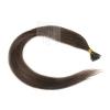 Echthaar Strähnen 0,5 g 45cm Bondings RB #2 Tiefdunkelbraun + 2 Clips