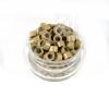 Microringe Silikon 0,5g Mittelblond für Ringmethode Bonding Echthaar Strähnen