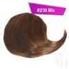 Pony Haarteil Clip In 25-30g Seitliche Form #2/30 Mix + 2 Tressenclips