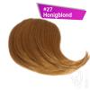 Pony Haarteil Clip In 25-30g Seitliche Form #27 Honigblond + 2 Tressenclips