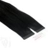 Tape On Extensions Remy Echthaar 40cm Tresse 2g Schwarz #1