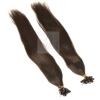 20 Strähnen 0,5g 45cm Haarverlängerung #2 Glatt + Set