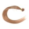 Bonding Echthaar Strähnen 0,5 g 45cm #27 Honigblond + Zubehör Set