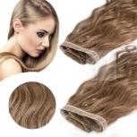 Skin Weft Haarverlängerung 30cm Länge Dunkelblond #14