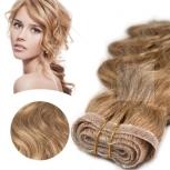 Skin Weft 30cm Haarbreite 30cm Länge Glatt Dunkelbeigeblond #15
