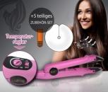 Wärmezange Pink 611 mit Temperaturregler + Gratis Zubehör Set