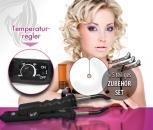 Wärmezange Schwarz 618 mit Temperaturregler + Zubehör Set