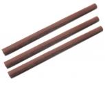 Große Keratinpistole weiß + 1 Keratin Stick Braun 18cm zum Bonden