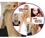 Anleitung Haarverlängerung mit Echthaar Strips CD ROM für PC