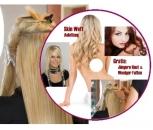 Anleitung Haarverlängerung mit Skin Weft CD ROM für PC