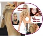 Anleitung Haarverlängerung mit Tape Extensions CD ROM für PC