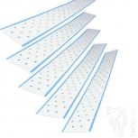 5x Bondingstrips Tapeband 30x3,8cm für empfindliche Haut 4-5 Wochen