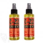 Remover C22 Citrus Solvent Tapebandlöser + Bondinglöser Spray 2x 118ml