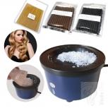 Hot Pot Keratin Erwärmer +12 Keratinsticks zum Rebonden von Strähnen