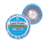 "Lace Front Support Tape 1 Set mit 2 Rollen a 6mm x 2,75m (2x 1/4""x3 Yard) Blue Liner Tapeband für Tape In Extensions & Zweithaar Kleberolle Klebeband"