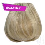 Pony Haarteil Clip In 25-30g Gerade Form Glatt #14/613 Mix + 2 Tressenclips
