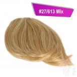 Pony Haarteil Clip In 25-30g Seitliche Form #27/613 Mix + 2 Tressenclips