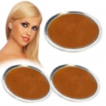 Keratin Bonding Schale Blond 65g Hot Pot Ersatz Patrone 8cmx2cm