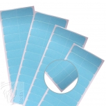 Blue Liner Tabs Super Hair Tape Ersatz Klebestreifen Hair Extensions