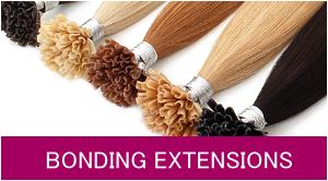 Haarextensions mit Bondings