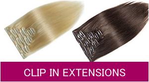 Haarextensions mit Clip-Ins