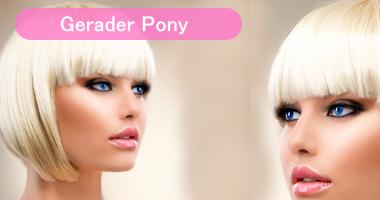 Pony Clip In Haarteil | Pony verdichten