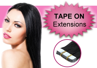Haarverlängerung - Tape On Extensions
