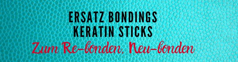 Ersatz Bondings Keratin Granulat Keratin Sticks | Media Vital
