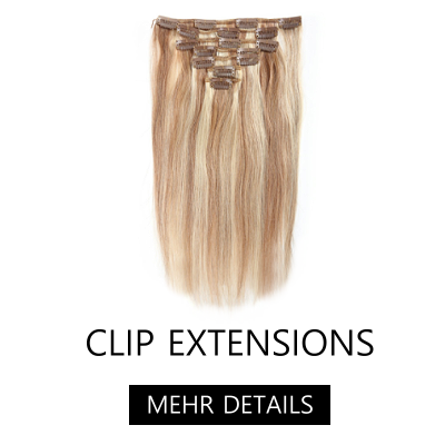 Clip In Extensions aus Echthaar - Echthaar Extensions mit Clips